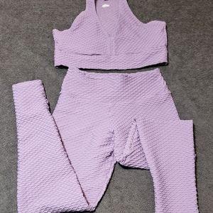SET** Booty By Brabants- Purple Sky Croco Set